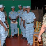 LTTE leader Velupillai Pirapaharan with Tamileelam Air Force (TAF) 2