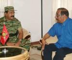 Mr. Anton Balasingham meets Mr. V. Pirapaharan