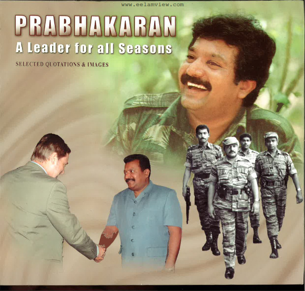 Prabhakaran a Leader for all Season front