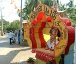 annai Poopathi Large cutout seen in Chunnakam junction